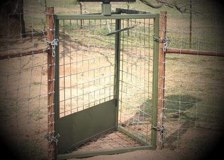 Hog Trap Door ... & SDH Outdoors \u2013 Hog Trap Door \u2013 48\u2033