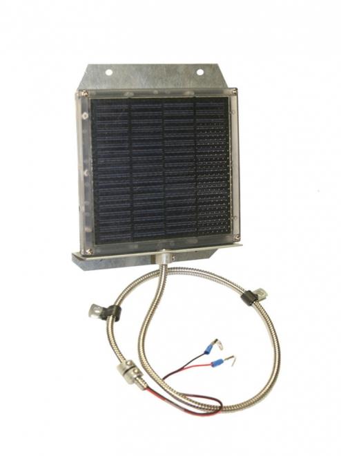 12v. Solar Panel with Bracket