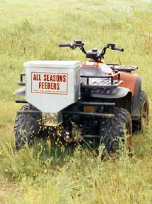 50lb. All Seasons Electric Road Feeder