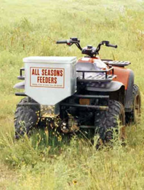 50lb. All Seasons Electric Road Feeder