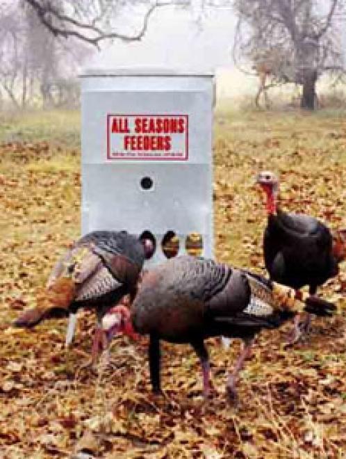 All Seasons Turkey Feeder